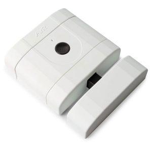 Cerradura electrónica blanca